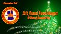 2016 Annual Awards Banquet