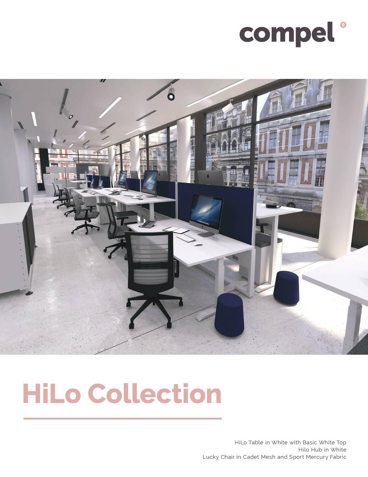 Compel Furniture HiLo Collection Brochure