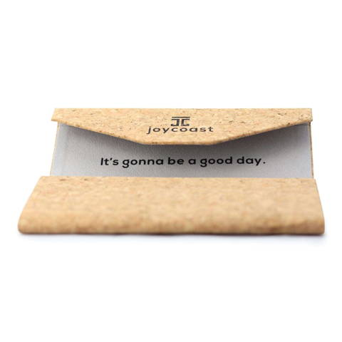 cork wooden sunglasses case from Joycoast