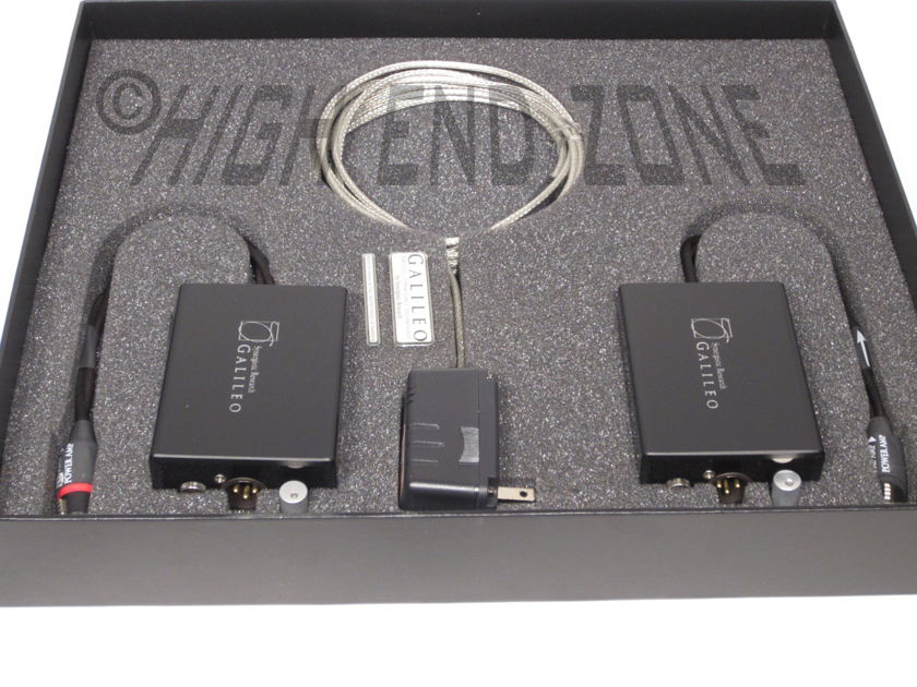 $2,000 Synergistic Research  Galileo Universal Interconnect Cell, XLR Pre-Amp to Power Amp