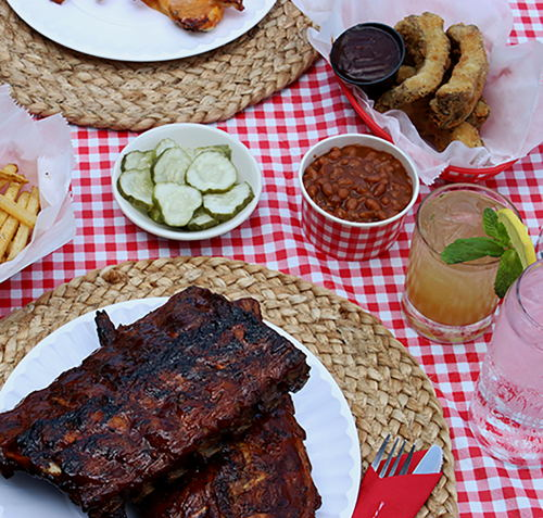 Summer Bourbon BBQ Grillin' Menu