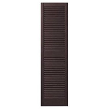 STANDARD LOUVERED SHUTTERS-WINESTONE