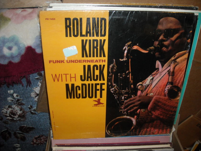 (lec) Kirk Roland & Jack McDuff - Funk Underneath Prestige LP (c)