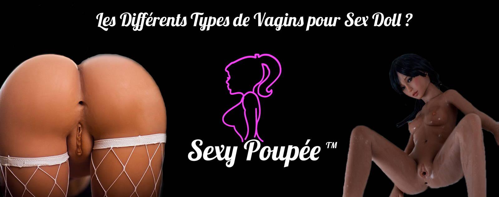 Blog les différents types de vagins pour Sex doll