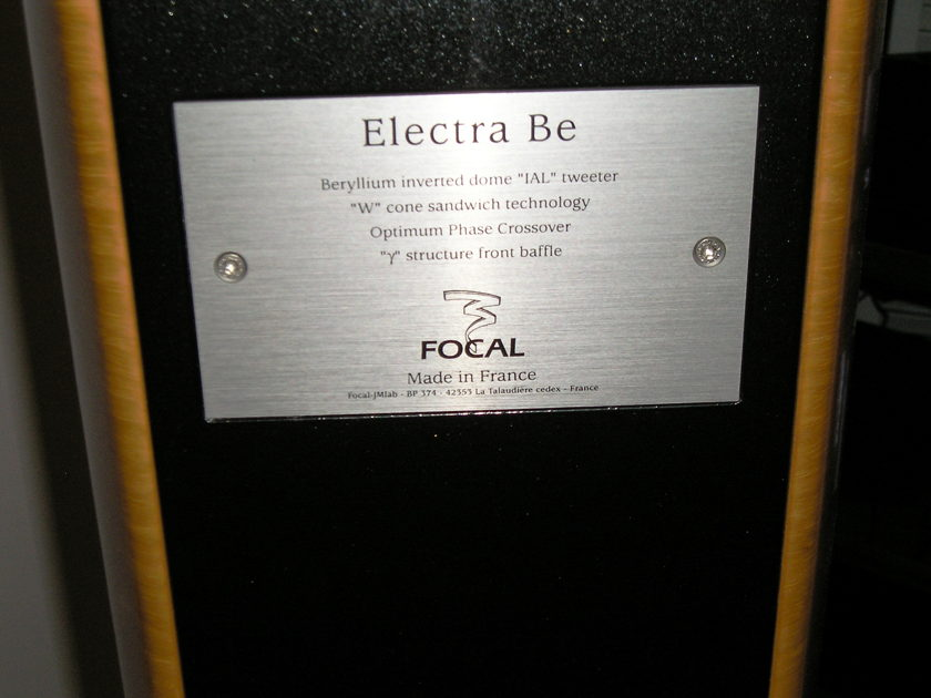 FOCAL ELECTRA BERYLLIUM 1037 Be FREE HERBIES FEET - PRO-PACK & SHIP or PICK-UP