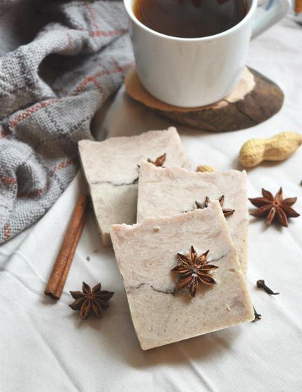 «Масала чай» натуральное мыло