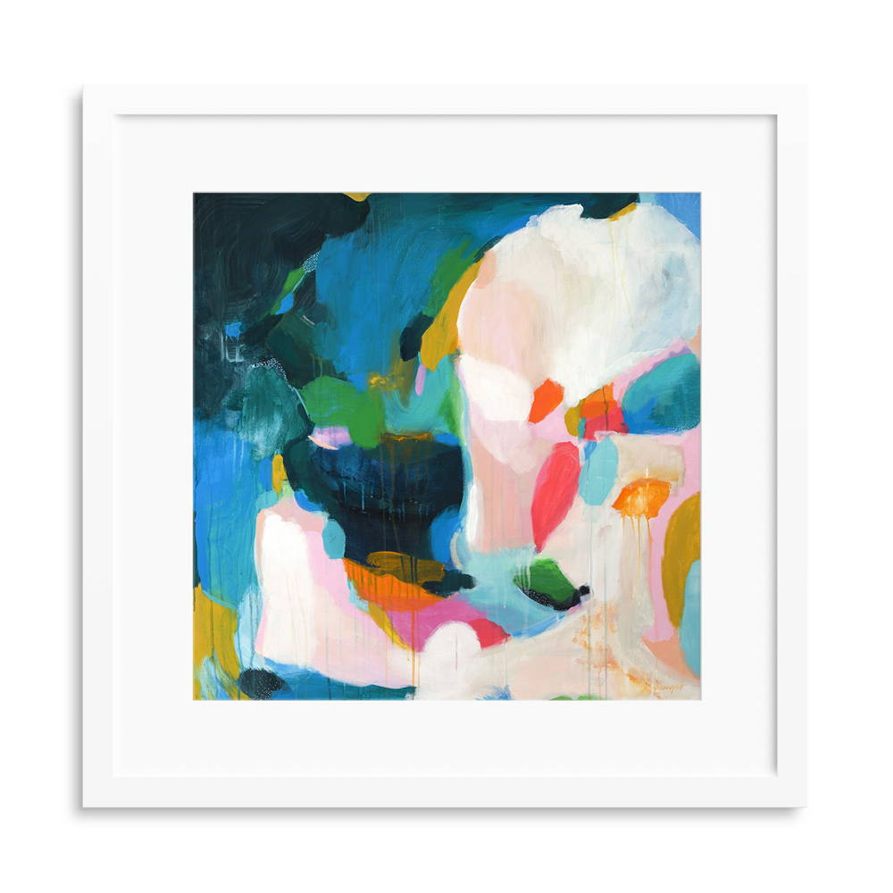 Felicity abstract art print by Parima Studio #art