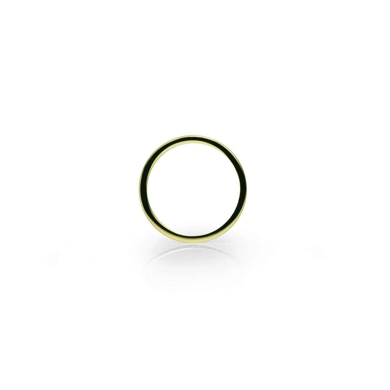 Round Ring in Brass