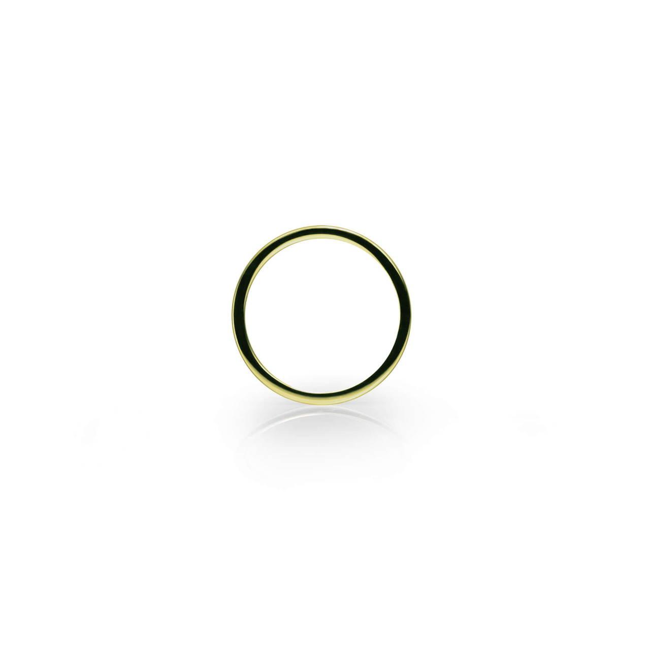 Round Ring in Brass