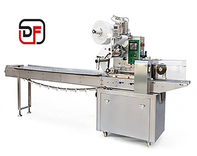 The Danflow flow wrapping machine in model Vega