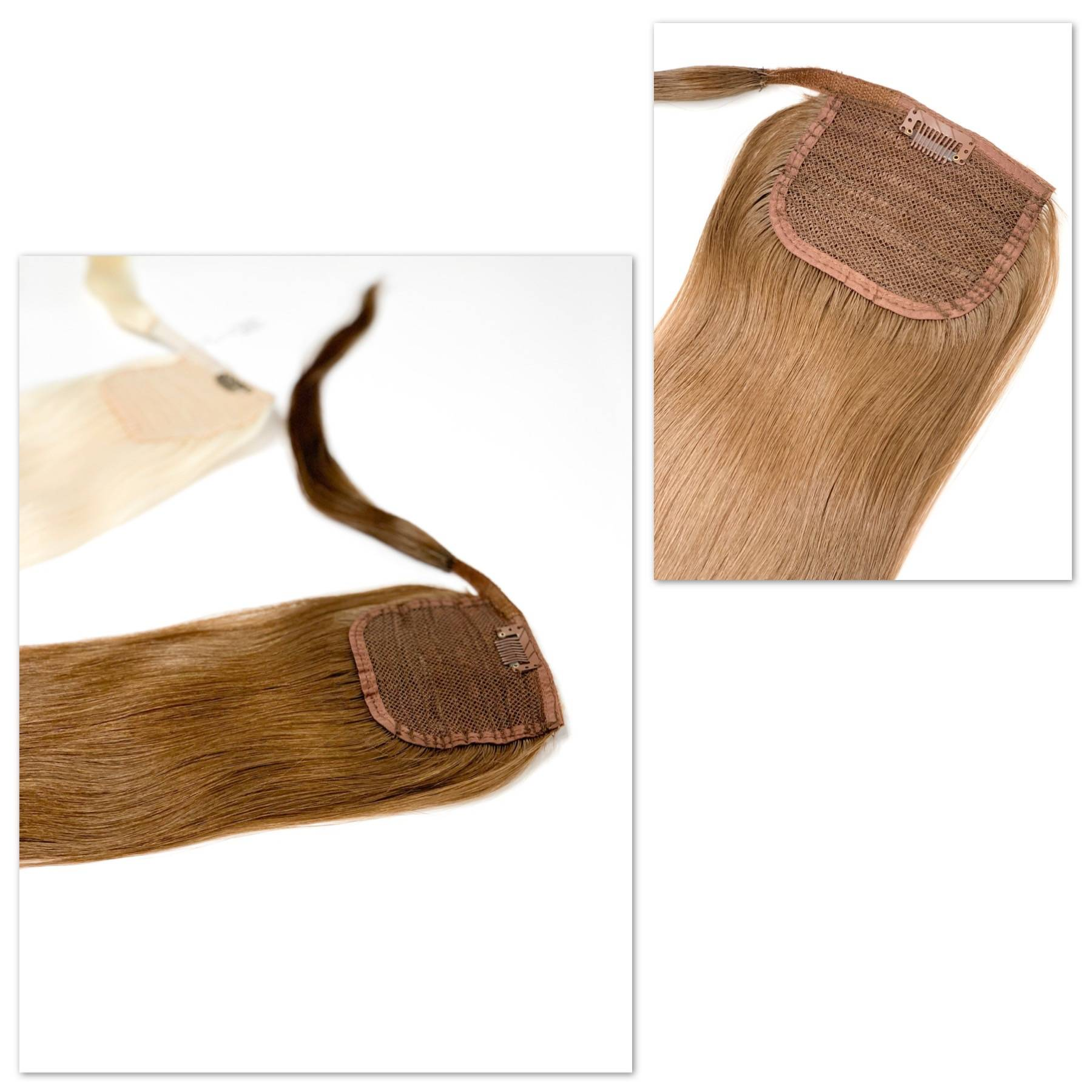 GVA Hair light brown ponytail extensions