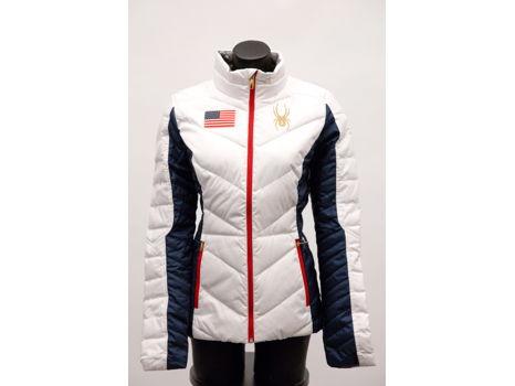 Women's Olympic Alpine Jacket by Spyder, size S
