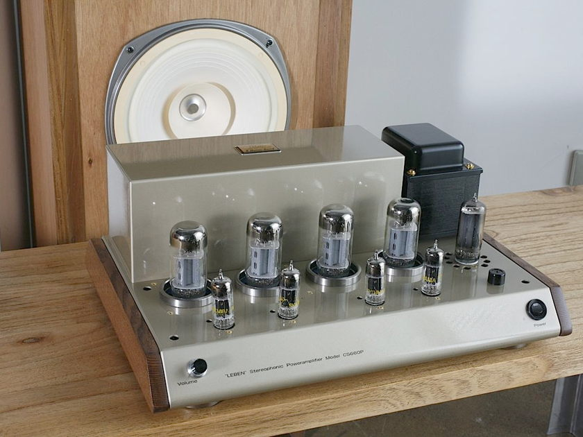 LEBEN CS-660P Valve amplifier 220-230v