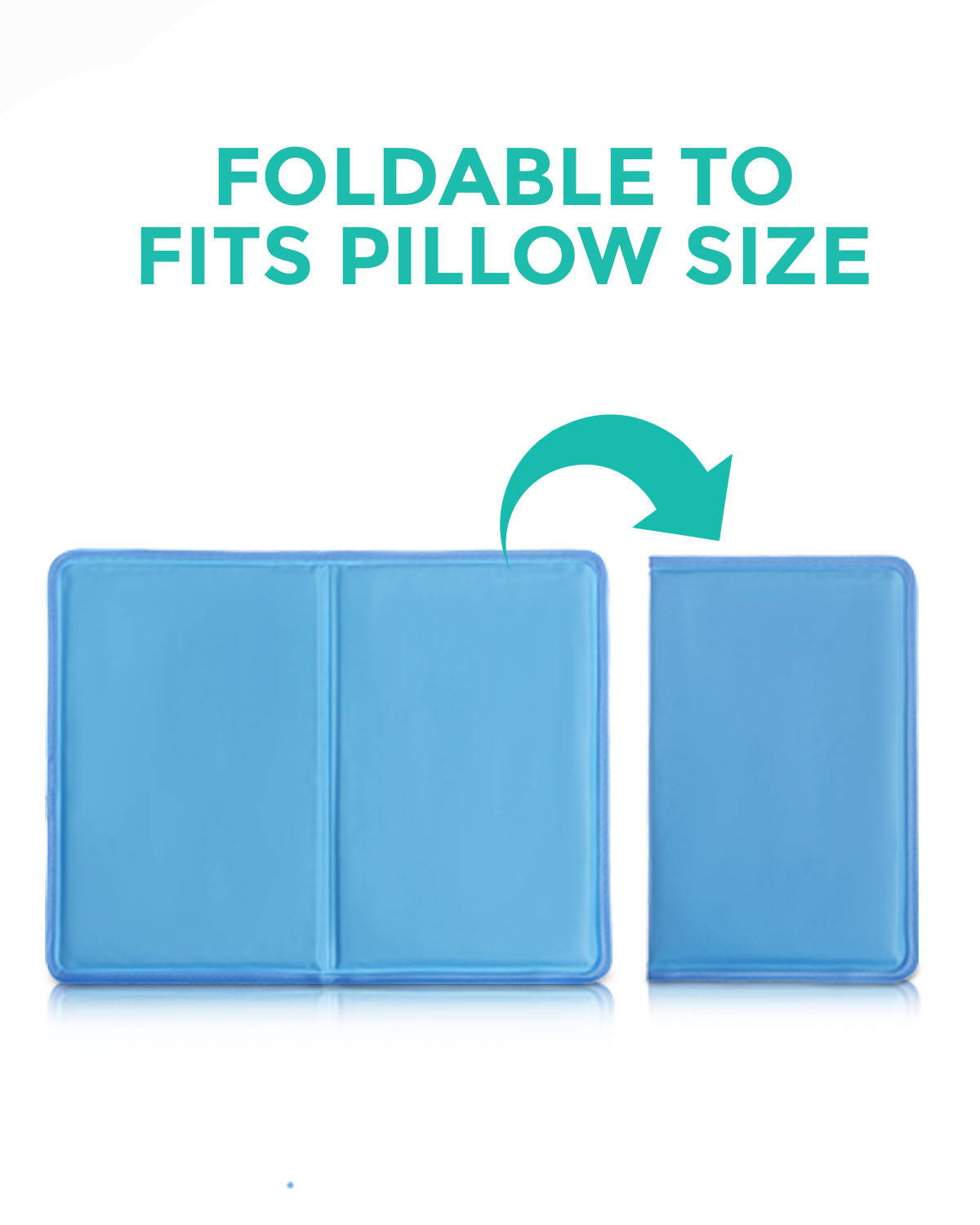 Foldable To Fit Into Your Pillow