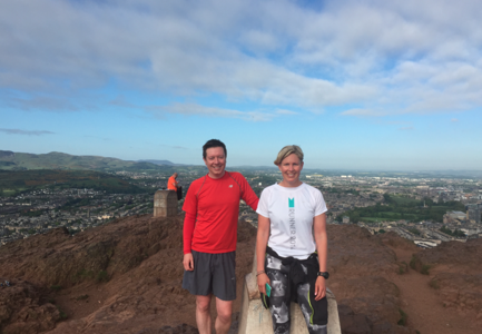 Panoramic Edinburgh (6 miles) Running Tour