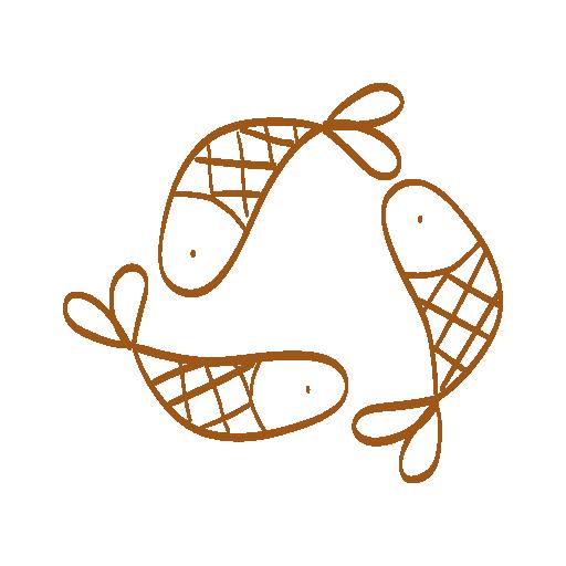 cygle recyclage avec poissons