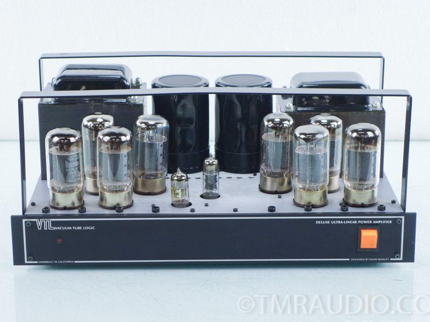 VTL Deluxe 300 Monoblock Tube Power Amplifier; Pair (9792)