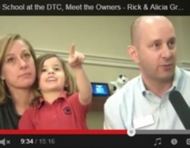 Image preview of a video featuring two Primrose parents being interviewed with their child