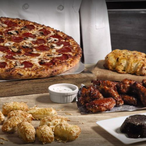 Picture of Domino's Pizza is open for carryout and delivery