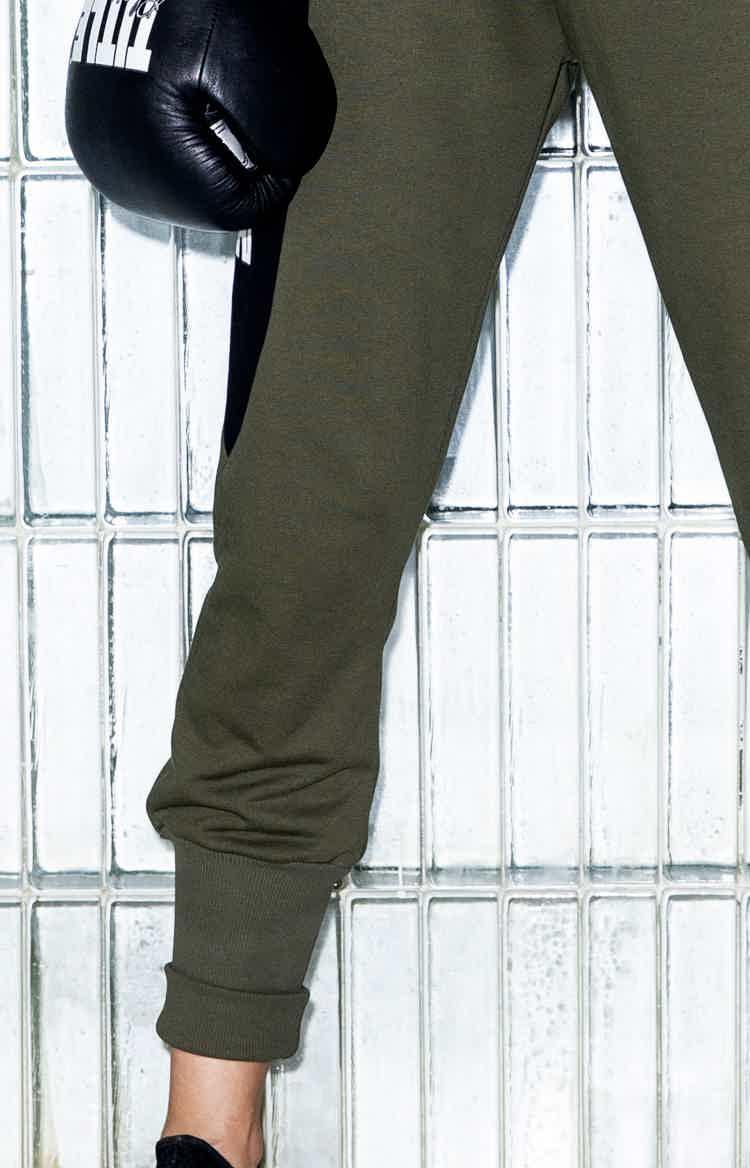 Fat Free khaki pants