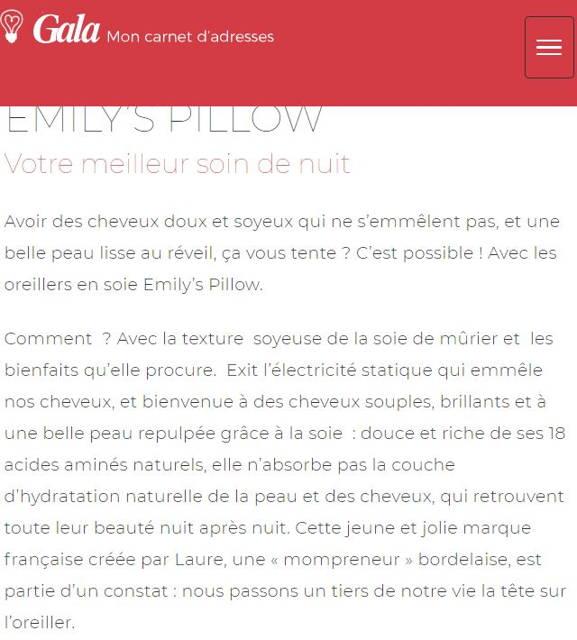 avis emily's pillow