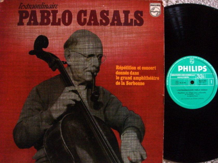 Philips / PABLO CASALS, - L'Extraordinaire PABLO CASALS, EX, French Press!