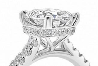 bespoke diamond engagement rings with hidden halo - Pobjoy Diamonds