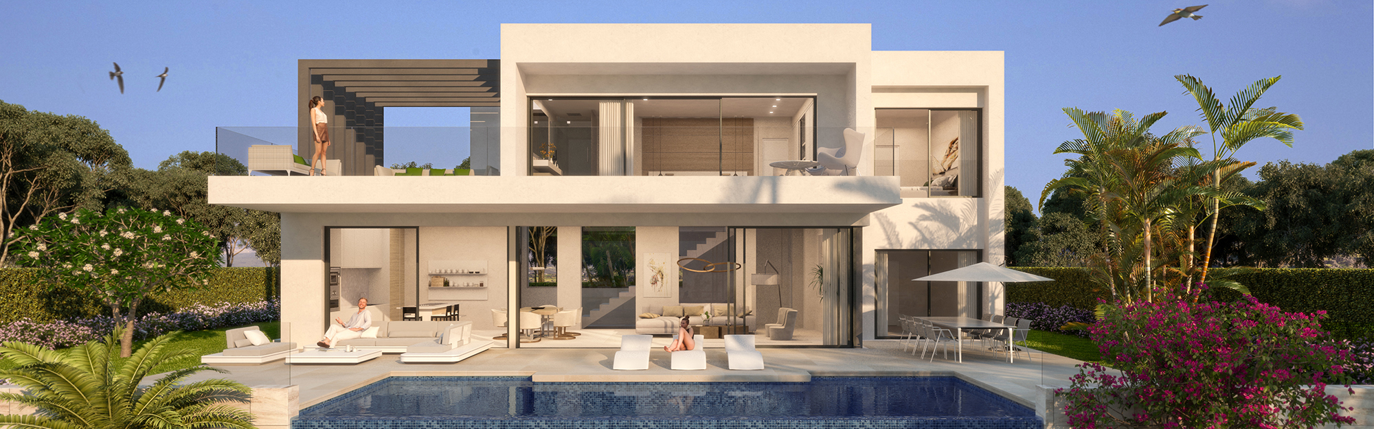 Estepona - Modern new villas in a gated community
