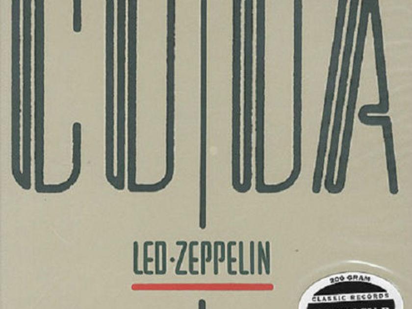 LED ZEPPELIN - CODA - - CLASSIC RECORDS 200 GRAM PRESS *** SEALED ***