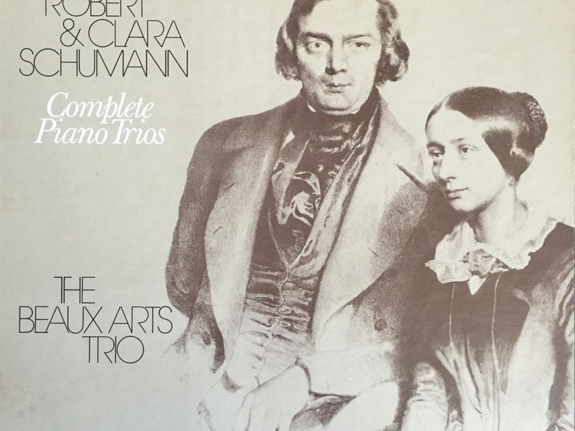 Beaux Arts Trio - Robert and Clara Schumann: Complete Piano Trios Philips Box Set (Italian pressing)