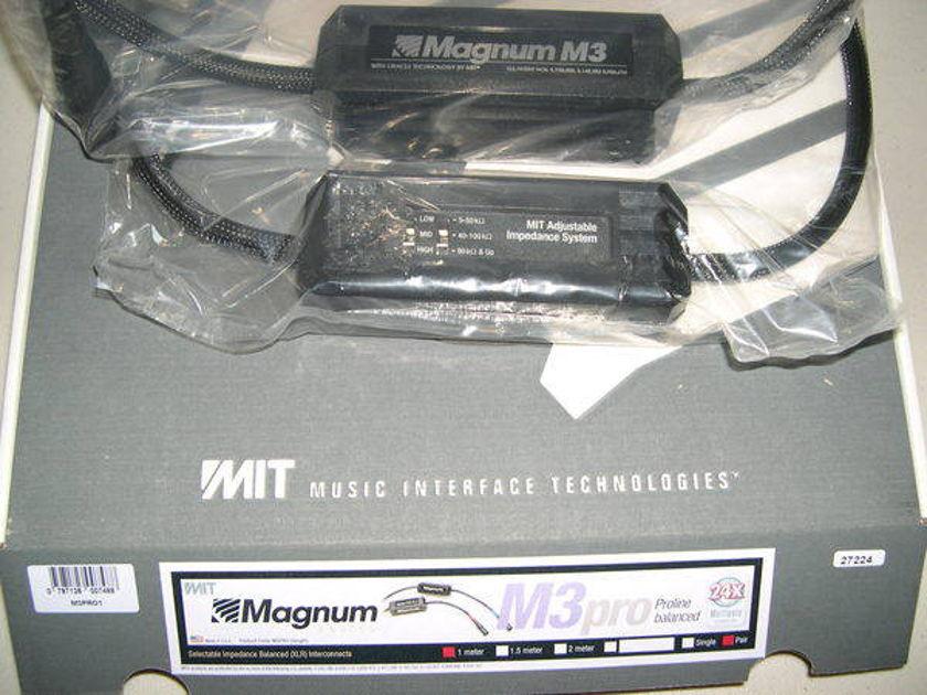 MIT Magnum M3 Proline XLR 2m Pr new-in-bx lifetime wrnty, half price