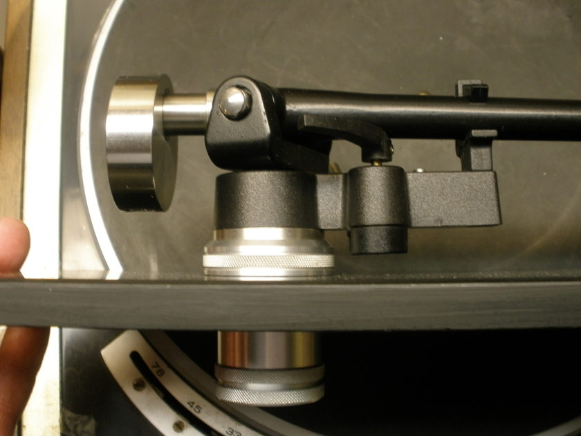 REGA  RB 300 w/Expressimo  Audio Counterweight Michell VTA Adjuster - Cardas Wire DIN Connection