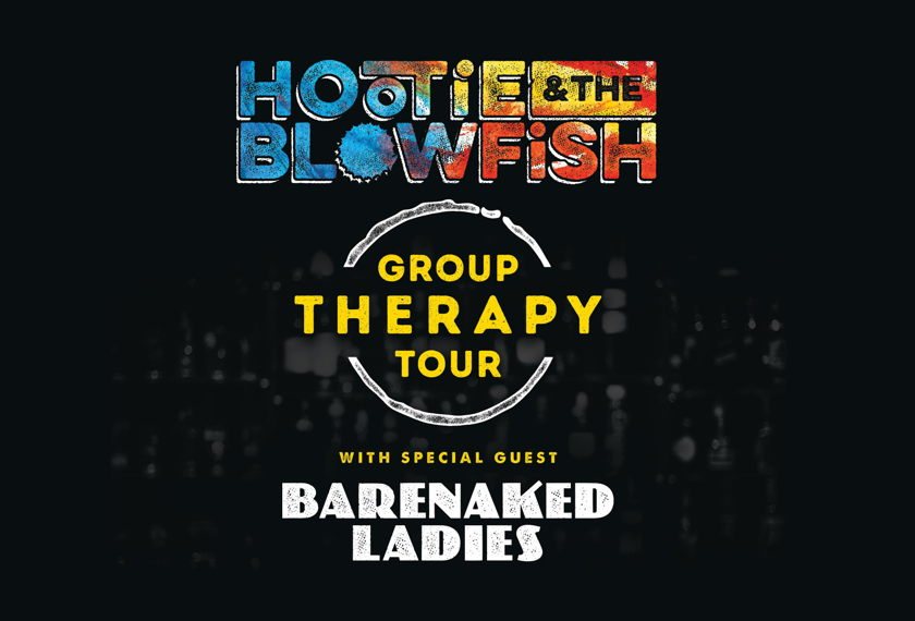 Hootie & The Blowfish - Group Therapy Tour artwork