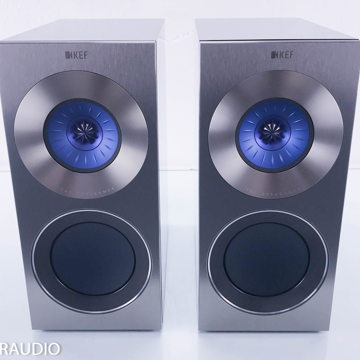 Reference 1 Bookshelf Speakers (Custom Blue Driver)