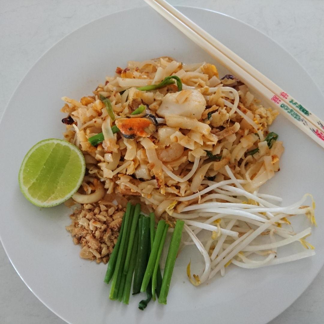 Date: 27 Oct 2019 (Sun) 33rd Main: Pad Thai [80] [102.5%] [Score: 7.8] Cuisine: Thai Dish Type: Main