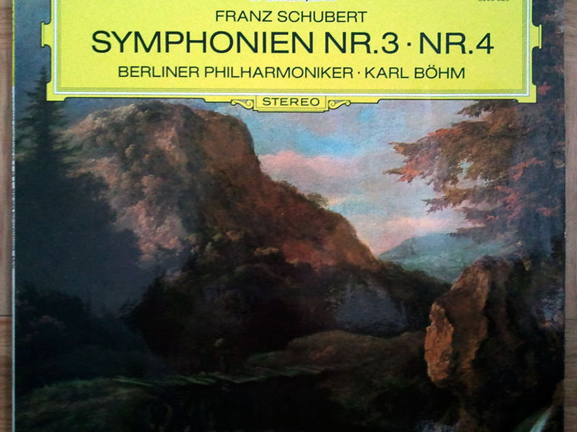 DG/Bohm/Schubert - Symphonies Nos.3 & 4 / NM
