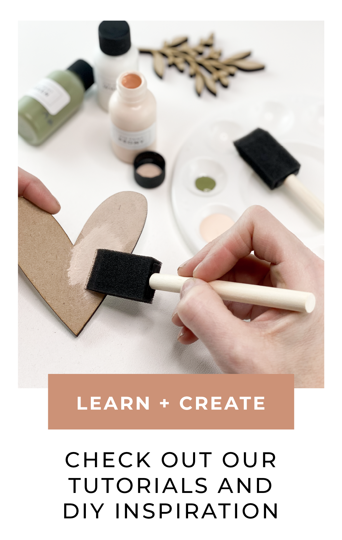 Check out our tutorials and DIY inspiration
