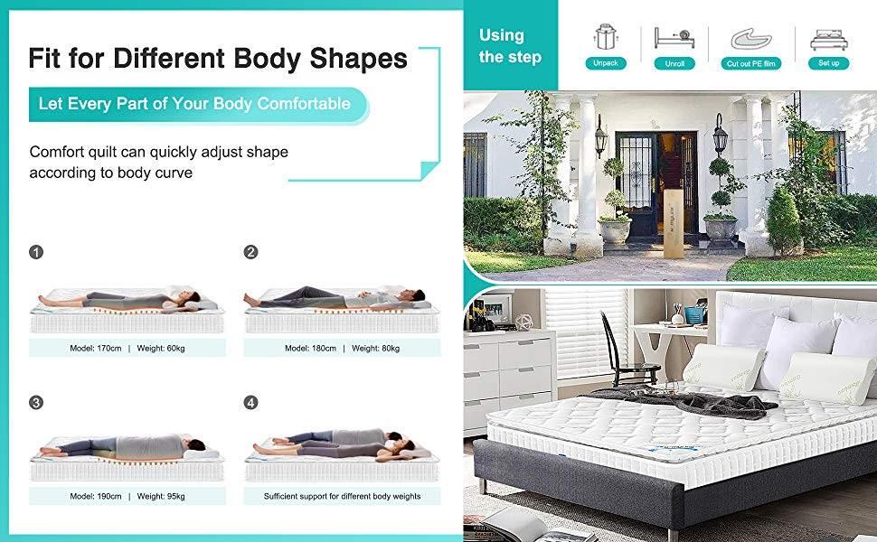 mattress in box