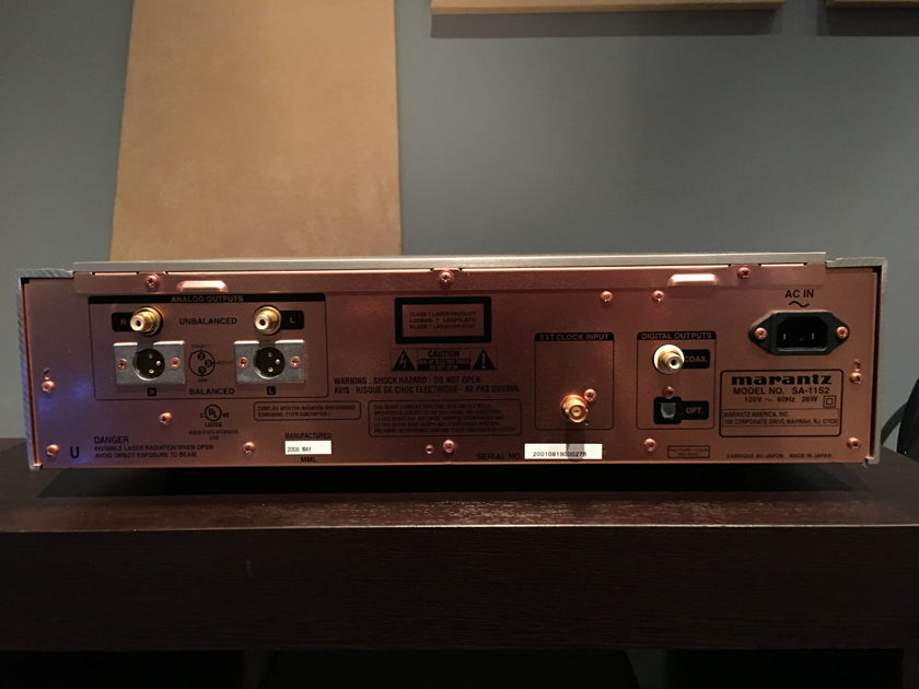 Marantz SA-11s2 CD Player