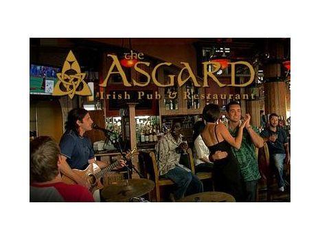 $50 to The Asgard Irish Pub & Restaurant