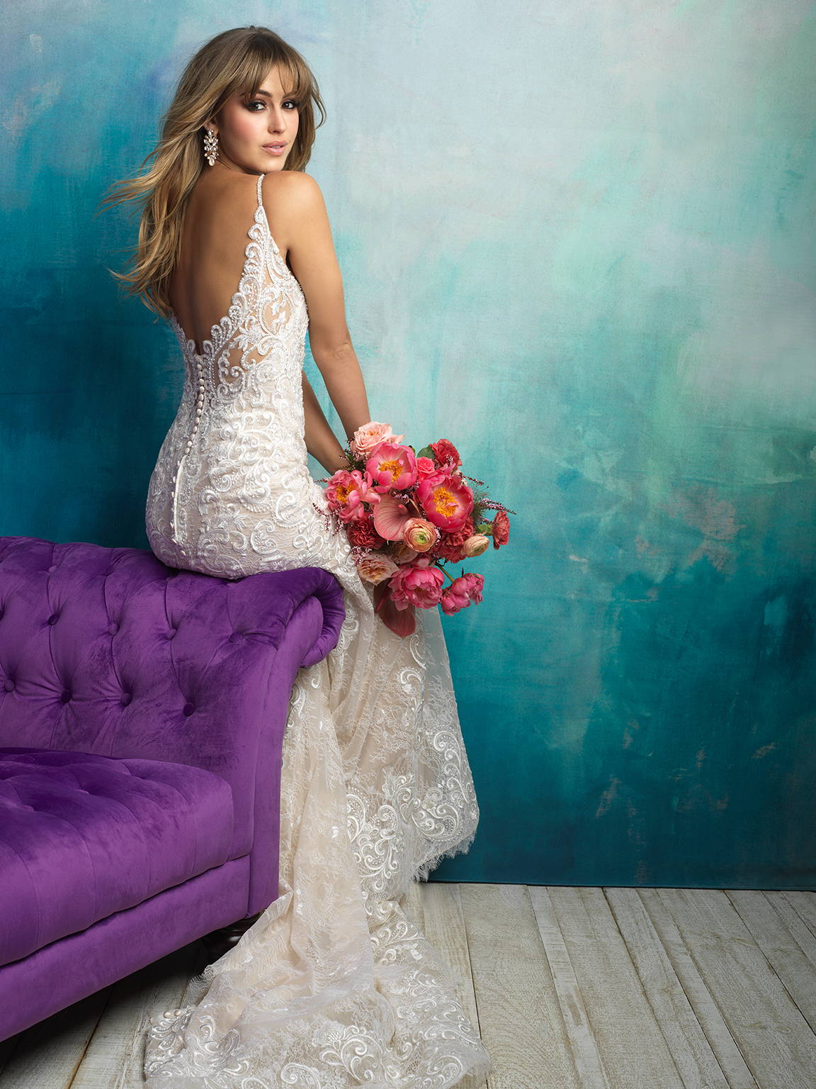 ALLURE  WEDDING DRESS 9501