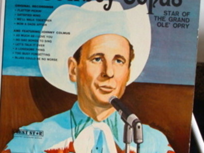 The Late Great Cowboy Copas Near Mint - The Late Great Lp Near Mint