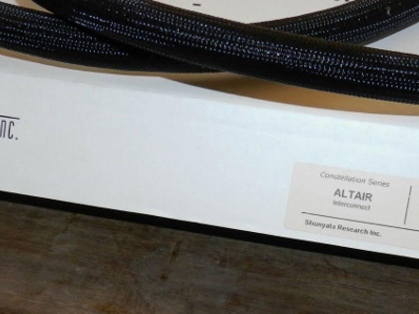 Shunyata Research Altair  XLR Helix Geometry  1 meter
