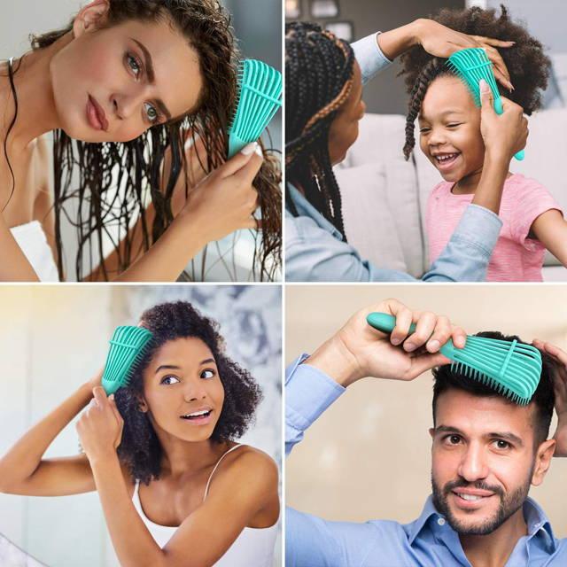 A melhor escova para cabelo cacheado, crespo e liso. Como pentear cabelo de criança. Como pentear cabelo cacheado e crespo de criança
