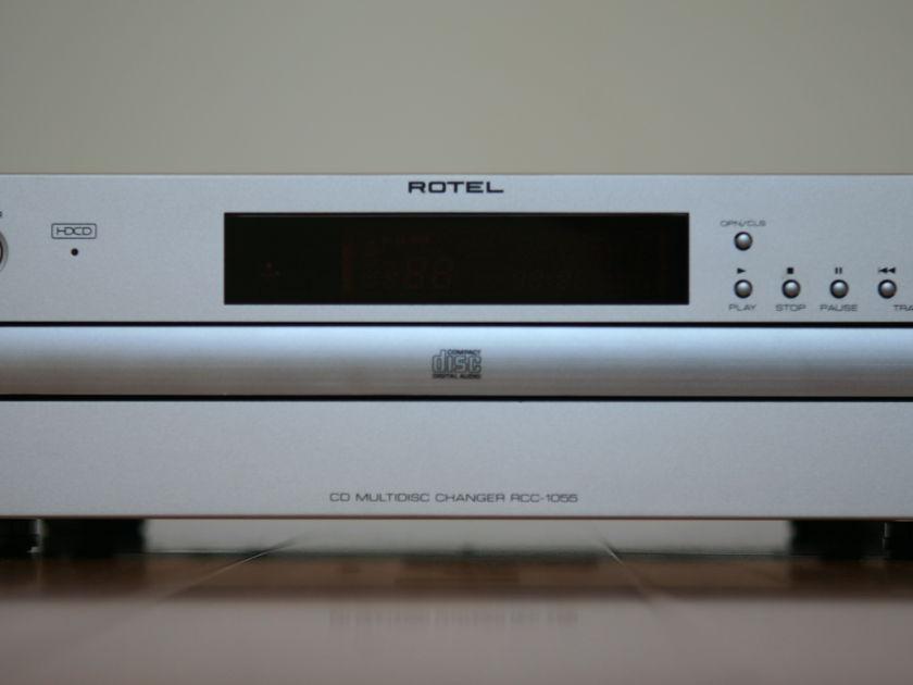 Rotel RCC-1055 HDCD Hifi CD Player, In Mint Condtiotion.