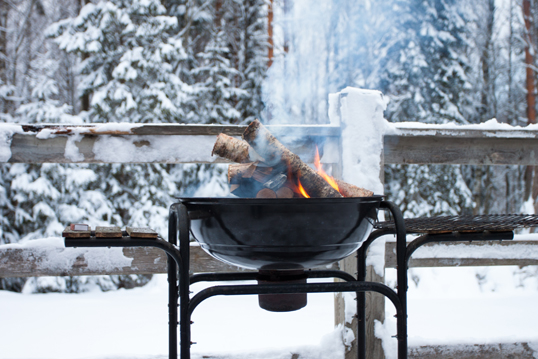 Hamburg - 5 tips for a winter barbecue on your terrace