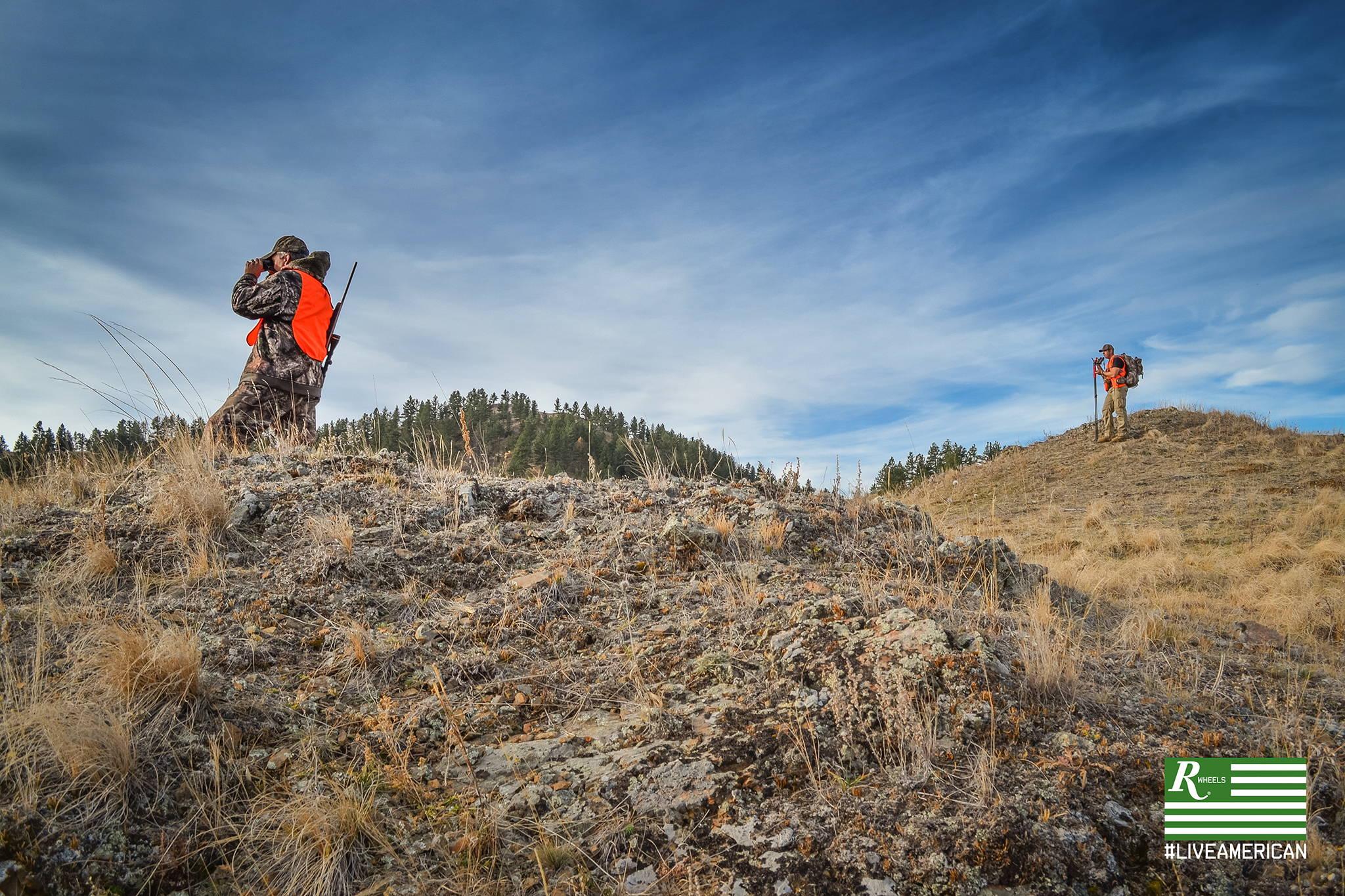 #liveamerican remington wheels outdoors montana hunters