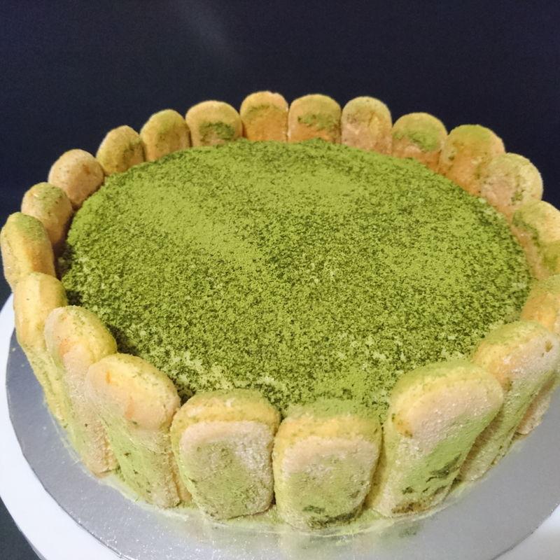Date: 6 Dec 2019 (Fri) 21st Dessert: Matcha Tiramisu Cake (No-Bake Matcha Cake) [134] [127.0%] [Score: 9.0]