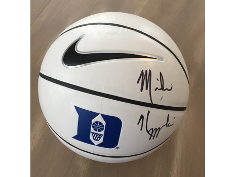 Coach Mike Krzyzewski Autographed Duke Basketball
