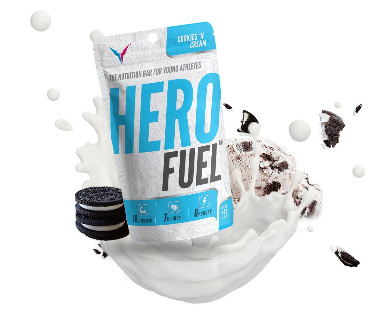 Hero Fuel Cookies 'N Cream